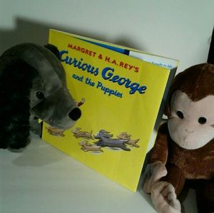 Other - Curious George and the puppy